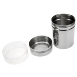 Bluelans Stainless Steel Chocolate Shaker Flour Powder Icing Sugar Coffee Sifter Lid จีน