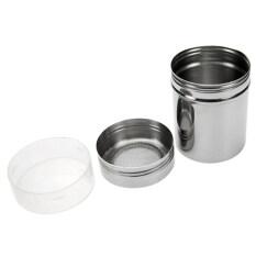 โปรโมชั่น Bluelans Stainless Steel Chocolate Shaker Flour Powder Icing Sugar Coffee Sifter Lid ถูก