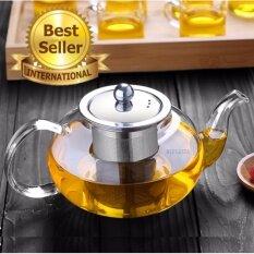กาน้ำชา กาชงชา Blusasta กาแก้ว กาสแตนเลส 600ml (sus304)