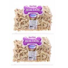 ซื้อ Bokdok บิสกิต สำหรับสุนัข รสนม 500G 2 Units ออนไลน์ Thailand