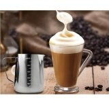 Image 2 for BolehDeals 600ML Stainless Steel Coffee Milk Frothing Jug Garland Cup with Scale Cup - intl