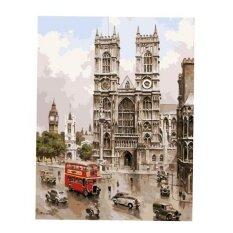 ซื้อ Bolehdeals Frameless Diy Painting By Numbers Canvas Painting Art Picture Streetscape Intl Bolehdeals เป็นต้นฉบับ