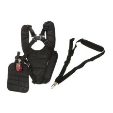 Bolehdeals Strimmer Double Breasted Shoulder Harness Strap +harness Strap W/ Carry Hook - Intl.
