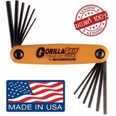 ขาย Bondhus ชุดประแจหกเหลี่ยม แบบพับ 12 ขนาด ชุดนิ้ว มิล Made In Usa เครื่องมือช่าง ประแจหกเหลี่ยม อุปกรณ์ช่าง Bondhus เป็นต้นฉบับ