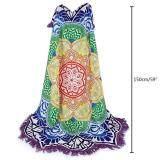 ขาย ซื้อ Boobc Indian Hippy Mandala Wall Hanging Beach Throw Towel Tablecloth Picnic Blanket Yoga Mat Purple ใน จีน