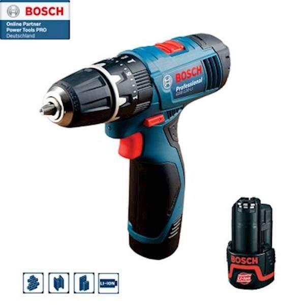 Bosch สว่านกระแทกไร้สาย 12 โวลท์ รุ่น GSB 120-Li