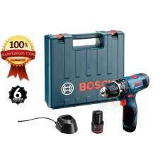 ขาย Bosch สว่านเจาะกระแทกไร้สาย เจาะปูน ไม้ เหล็ก 12V ยี่ห้อ Bosch รุ่น Gsb 120 Li Bosch ถูก