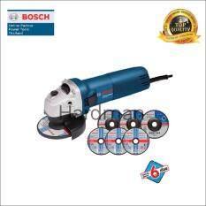 โปรโมชั่น Bosch เครื่องเจียร 4 นิ้ว บ๊อช รุ่น Gws 060 แถมฟรี ใบเจียร 4 นิ้ว 3 ใบ ใบตัด 4 นิ้ว 3 ใบ มูลค่า 400 บาท ใน กรุงเทพมหานคร