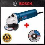 ราคา Bosch เครื่องเจียร์ Gws 060 Blue แถมใบเจียร์ Bosch 4 นิ้ว 100X6X16Mm 1 ใบ เป็นต้นฉบับ Bosch Th