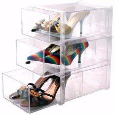 ขาย Boxbox กล่องใส่รองเท้า 3 ชิ้น รุ่น 997Rs สีใส กรุงเทพมหานคร ถูก