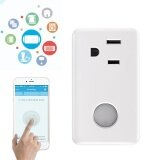 โปรโมชั่น Broadlink Wifi Wireless Remote Control Smart Power Electric Socket Us Plug For Cellphone Intl Broadlink