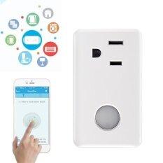 ซื้อ Broadlink Wifi Wireless Remote Control Smart Power Electric Socket Us Plug For Cellphone Intl Broadlink