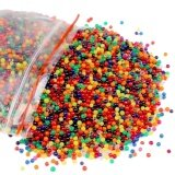โปรโมชั่น Bulk Of 6000 Beads 100G Mixed Water Beads Water Growing Balls For Vase Filler Wedding Home Decoration Plants Kids Color Recognition Intl Vococal