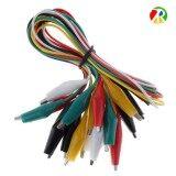 ขาย ซื้อ ออนไลน์ สายปากคีบ คลิปหนีบสายไฟ Cable Wire Crocodile Clips 50Cm คละสี 10 เส้น ชุด
