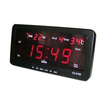 แนะนำ นาฬิกาดิจิตอล Caixing รุ่นCX-2158 – Black