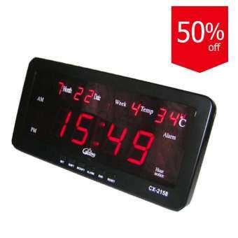 ราคา นาฬิกาดิจิตอล Caixing รุ่น CX-2158 – Black