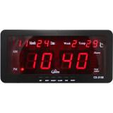 ราคา Caixing นาฬิกาปลุก ตั้งโต๊ะ ติดผนัง Led พร้อมวันที่ ขนาด 7 นิ้ว ไฟสีแดง Caixing