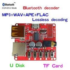 ขาย Car Bluetooth 4 1 Mp3 Wav Decoding Board Speaker Amplifier Audio Receiver Module Support Usb Tf U Disk Intl จีน