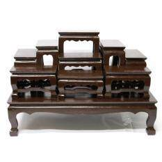 ซื้อ Cara Wood โต๊ะหมู่บูชาวางพระ ไม้สักทอง หมู่ 9 หน้า 4 สีโอ๊ค Cara Wood เป็นต้นฉบับ