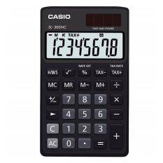 ซื้อ Casio เครื่องคิดเลข ตั้งโต๊ะ แบบพกพา หน้าจอ 8 หลัก รุ่น Sl 300Nc Bk สีดำ Casio เป็นต้นฉบับ