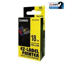 ซื้อ Casio เทปเครื่องพิมพ์สลาก รุ่น Xr 18Yw1 สีเหลือง ถูก กรุงเทพมหานคร