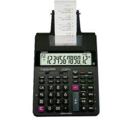เครื่องคิดเลขพิมพ์กระดาษ Casio Hr100rc 12 หลัก สีดำ.