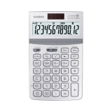 Casio Jw 200Tw We 12 Digit Calculator Gt Dual Power White เกาหลีใต้