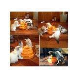 ราคา Cat Accessories ของเล่นแมว ลูกบอลพลาสติกราง3ชั้น สีส้ม ออนไลน์