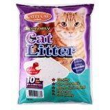 ขาย Cattycat ทรายแมว กลิ่นแอปเปิ้ล ขนาด 10 ลิตร Cattycat เป็นต้นฉบับ