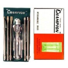 ราคา Champion ชุดไขควงลองไฟ 5 ตัว ชุด Champion ใหม่