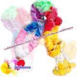 ราคา Chanee พวงมาลัยผ้าดอกดาวเรืองเต็มดอก 7 สี สำหรับไหว้ศาล ไหว้รถ แก้บน Size 105 Cm ใหม่