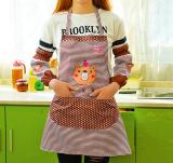 ขาย Chanee ชุดผ้ากันเปื้อน ปลอกแขนกันกระเด็นจากเกาหลี สีน้ำตาล ผู้ค้าส่ง