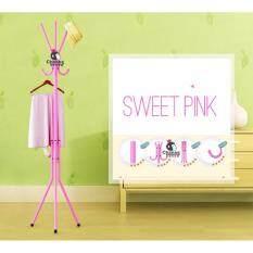 ขาย Chanee Coat Rack Floor Standing ที่แขวนสูท หมวก เสื้อโค้ต กระเป๋าและร่ม Pink ออนไลน์ ใน Thailand
