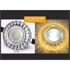 ราคา Chanee Diamond Crystal Sunflower ดาวไลท์ฝังฝ้า ไฟทางเดิน เป็นต้นฉบับ Unbranded Generic