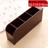 ราคา Chanee กล่องเก็บของ 4 ช่อง สีน้ำตาล จากเกาหลี ถูก