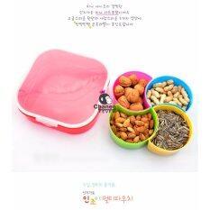 ซื้อ Chanee Korea Fantasy Box กล่องใส่อาหาร กล่องข้าว 4 ช่อง ออนไลน์