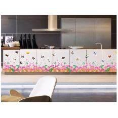 ซื้อ Chanee Pvc Sticker สติ๊กเกอร์ติดผนัง ติดกระจก รุ่นขายดี Dancing Flowers Unbranded Generic ออนไลน์