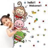 ซื้อ Chanee Pvc Sticker สติ๊กเกอร์ติดผนัง ติดกระจก ยินดีต้อนรับ Welcome 3 Friends ใหม่