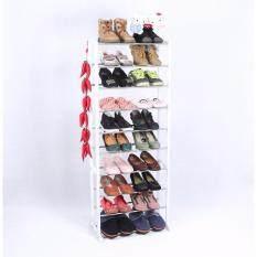 ชั้นวางรองเท้า 10 ชั้น Amazing Shoe Rack สีขาว ถูก