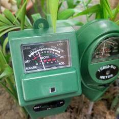 ราคา Cheer 3 In 1 Ph Tester Soil Water Moisture Light Test Meter For Garden Plant Flower ใหม่ล่าสุด