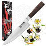 ซื้อ มีดเชพ Chef S Knife 20Cm By Okami Knives Best Quality Vg10 High Carbon Japanese Stainless Steel 67 Layers Damascus Blade Professional Gyutou Kitchen Knife Sharp Cutlery Ergonomic Handle Premium Packaging Okami Knives ออนไลน์