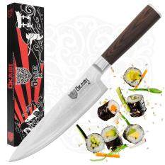 ส่วนลด มีดเชพ Chef S Knife 20Cm By Okami Knives Best Quality Vg10 High Carbon Japanese Stainless Steel 67 Layers Damascus Blade Professional Gyutou Kitchen Knife Sharp Cutlery Ergonomic Handle Premium Packaging Thailand