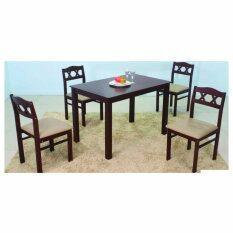 ส่วนลด ชุดโต๊ะอาหาร 4 ที่นั่ง รุ่นประหยัด Rf Furniture กรุงเทพมหานคร