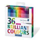 ขาย ชุดปากกาสีเมจิกไร้สารพิษจากเยอรมันนี 36 สี Non Toxic Staedtler Triplus Fineliner 36 Brilliant Colors 3 มม ออนไลน์ ใน Thailand