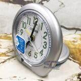 ซื้อ Citizen นาฬิกาปลุกฝาพับ รุ่น C8223 Silver ทรงกลม สีเงิน ตัวเลขอารบิกพรายน้ำสีเขียว ใน กรุงเทพมหานคร