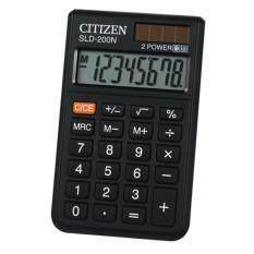ขาย Citizen เครื่องคิดเลข รุ่น Sld 200N สีดำ แสดงหน้าจอ 8 หลัก เป็นต้นฉบับ