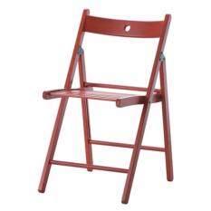 ซื้อ Ck เก้าอี้พับ แทร์เย่ เก้าอี้ผ่านการทดสอบ En 12520 และ En 1022 ด้านความปลอดภัยและความทนทาน สีแดง กรุงเทพมหานคร
