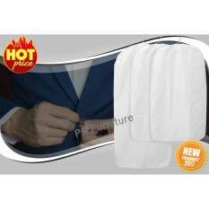 ซื้อ Clothes Cover ถุงสูท ถุงใส่สูท ถุงใส่เสื้อ ถุงใส่เสื้อผ้า ถุงคลุมเสื้อ กันฝุ่นเกาะ ชุด 3 ชิ้น รุ่น Pluring สีขาว ใน ไทย