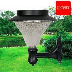 ขาย Coco Solar Powered Lights ไฟพลังงานแสงอาทิตย์ Solar Lamp Post 24 Led Coco เป็นต้นฉบับ