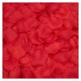 ราคา Coconie 2000ชิ้นผ้าดอกกุหลาบกลีบดอกไม้ประดิษฐ์การตกแต่งงานแต่งงานโปรดปรานสีแดง ออนไลน์ จีน